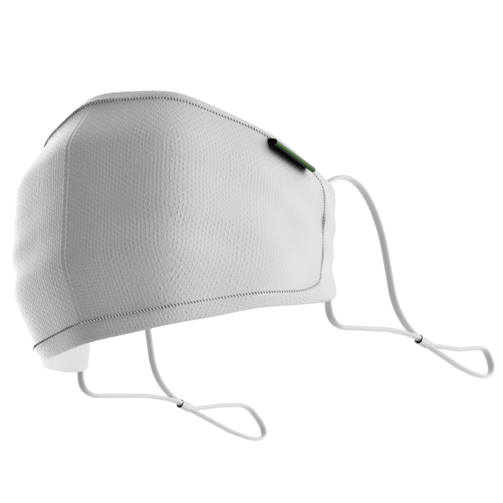 White mi-FACEMASK - V1